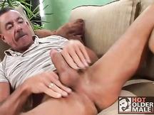 Vecchio cazzo maturo