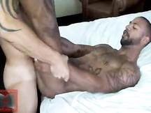 Bianco gay sfonda un culetto nero