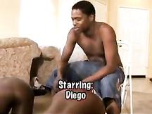 Due culi neri da sodomizzare