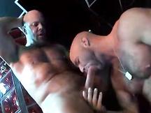 Coppia porno gay tromba in palestra