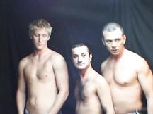 Trio gay fa un orgia omosex