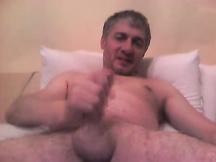 Gay maturo si masturba